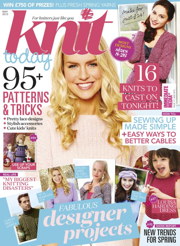 Knit Today - May 2015 free download