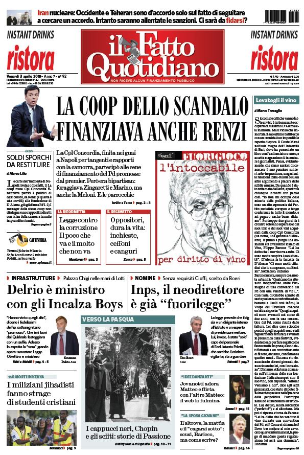 Il Fatto Quotidiano (03-04-15) free download