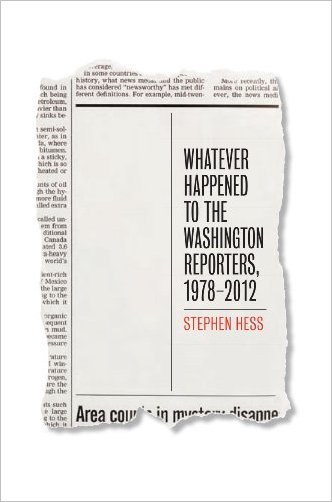 Whatever Happened to the Washington Reporters, 1978-2012 free download