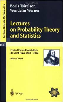 Lectures on Probability Theory and Statistics (Lecture Notes in Mathematics) by Wendelin Werner free download