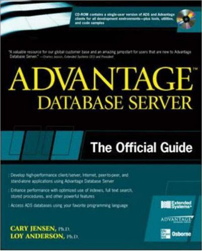 Advantage Database Server: The Official Guide free download