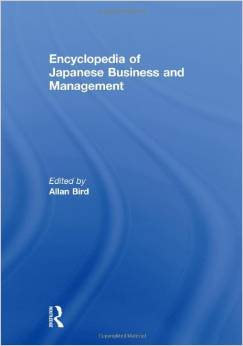 Encyclopedia of Japanese Business and Management by Allan Bird free download