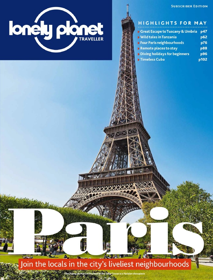 Lonely Planet Traveller - May 2015 free download