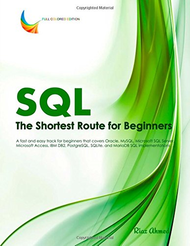 SQL - The Shortest Route For Beginners free download