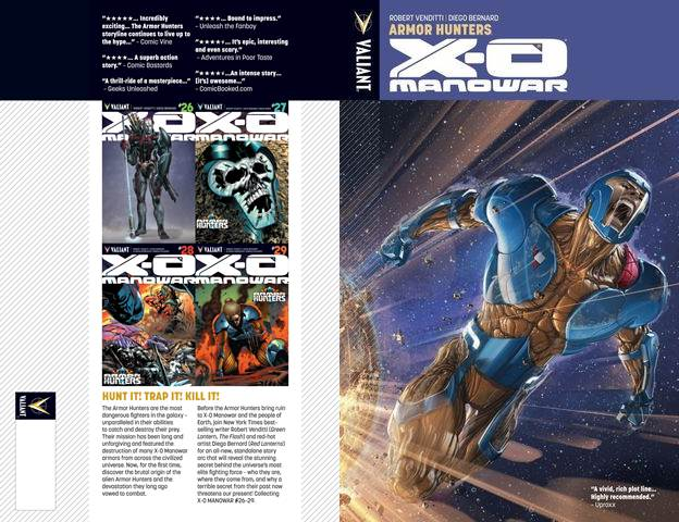 X-O Manowar v07 - Armor Hunters (2014) free download