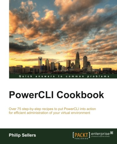 PowerCLI Cookbook free download