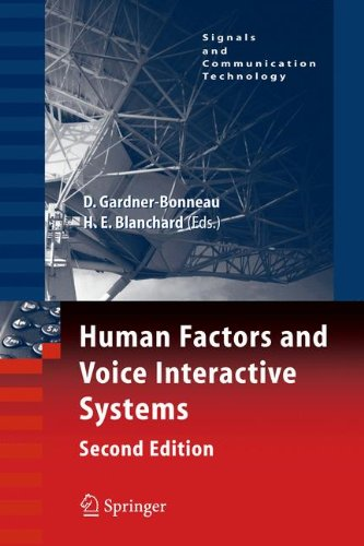 Human Factors and Voice Interactive Systems, Second Edition free download