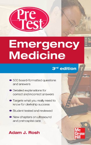 Emergency Medicine PreTest Self-Assessment and Review, Third Edition free download