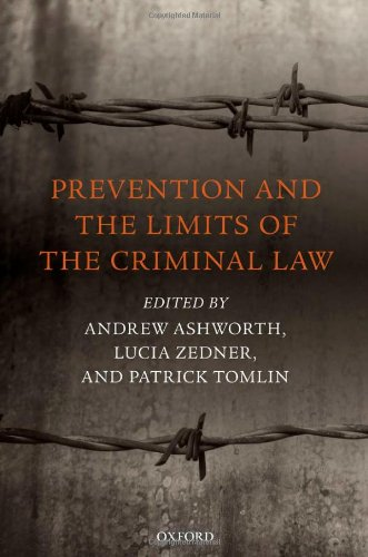 Prevention and the Limits of the Criminal Law free download
