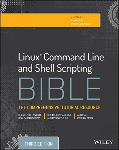 Linux Command Line and Shell Scripting Bible, 3rd Edition free download