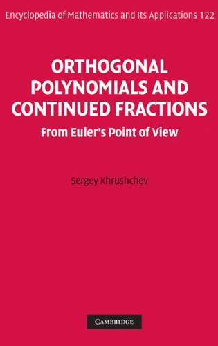 Orthogonal Polynomials and Continued Fractions: From Euler's Point of View free download