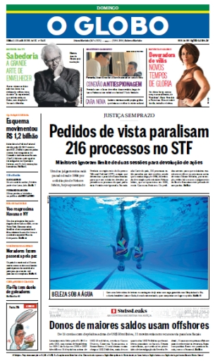 O Globo - 5 de abril de 2015 - Domingo free download