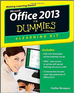 Office 2013 eLearning Kit For Dummies free download