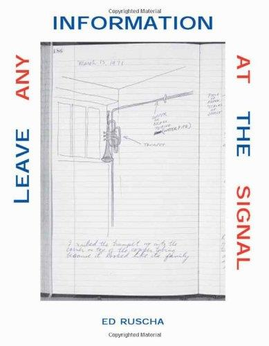 Leave Any Information at the Signal: Writings, Interviews, Bits, Pages free download