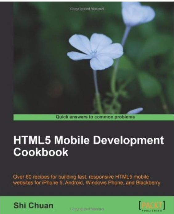 HTML5 Mobile Development Cookbook free download