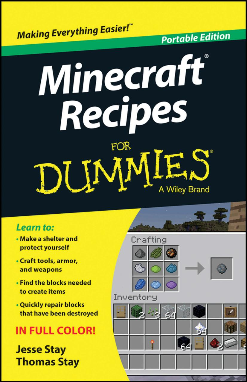 Minecraft Recipes For Dummies free download