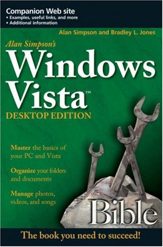 Alan Simpson's Windows Vista Bible, Desktop Edition free download