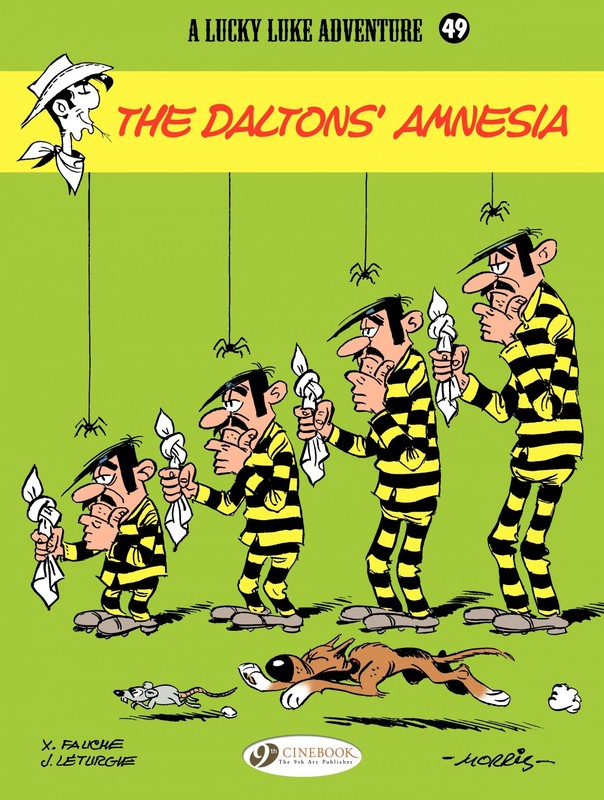 Lucky Luke 049 - The Daltons' Amnesia (2014) free download