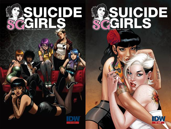 Suicide Girls #1-4 (of 04) (2011) Complete free download
