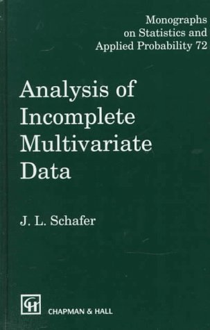 Analysis of Incomplete Multivariate Data free download