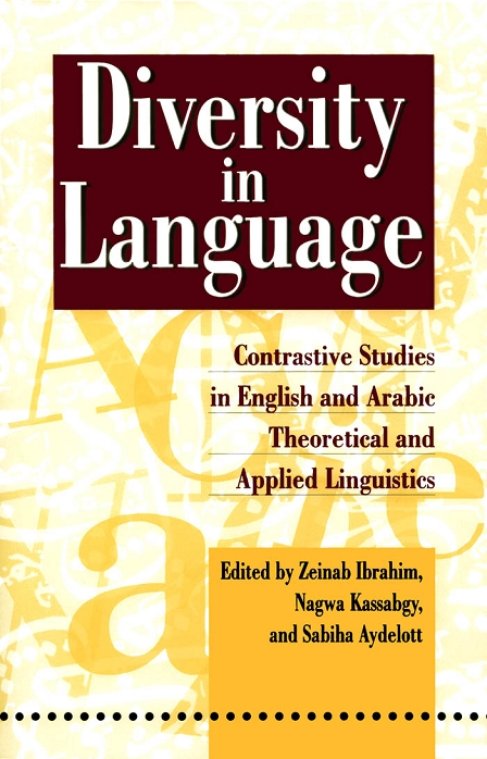 Diversity in Language: Contrastive Studies in English and Arabic Theoretical and Applied Linguistics download dree