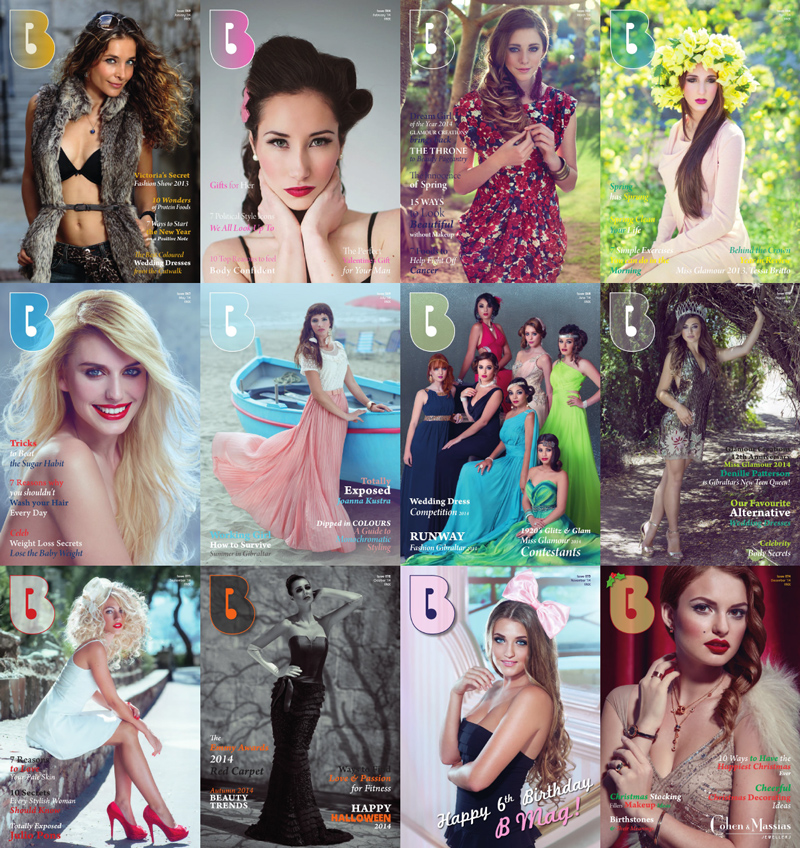B Magazine 2014 Full Year Collection free download