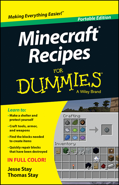 Minecraft Recipes for Dummies (Portable Edition) free download