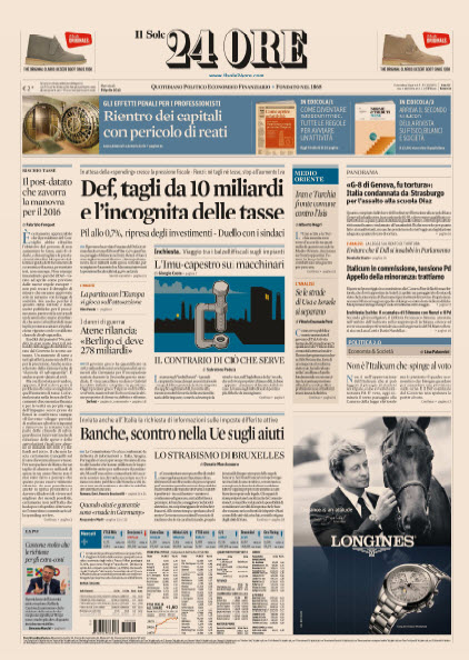 Il Sole 24 Ore - 08.04.2015 free download
