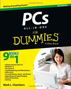 PCs All-in-One For Dummies (6th edition) free download