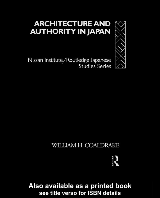 Architecture and Authority in Japan free download