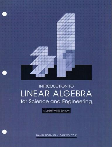 Introduction to Linear Algebra for Science and Engineering, 2nd edition (Student Value Edition) free download