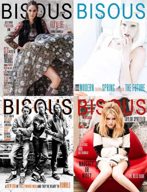 Bisous Magazine 2014 Full Year Collection free download