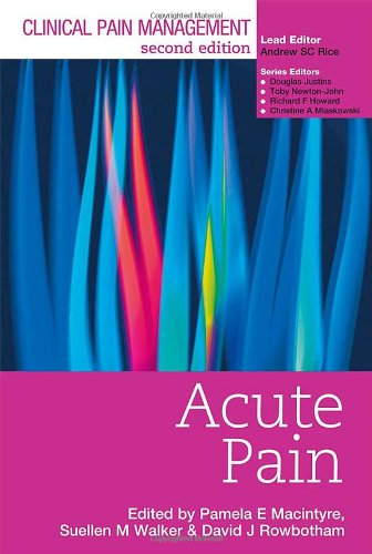 Clinical Pain Management Acute Pain free download