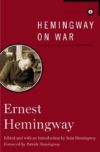Hemingway on War free download