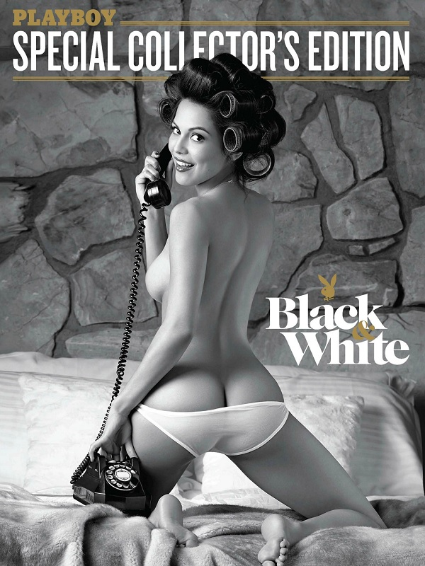 Playboy Special Collector'Edition Black and White - April 2015 free download