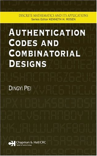 Authentication Codes and Combinatorial Designs free download