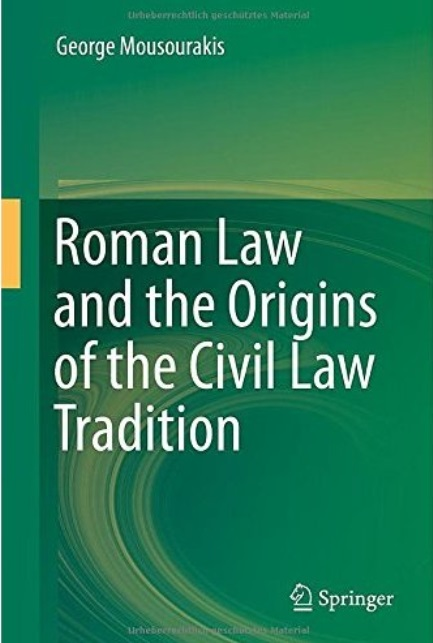 Roman Law and the Origins of the Civil Law Tradition free download