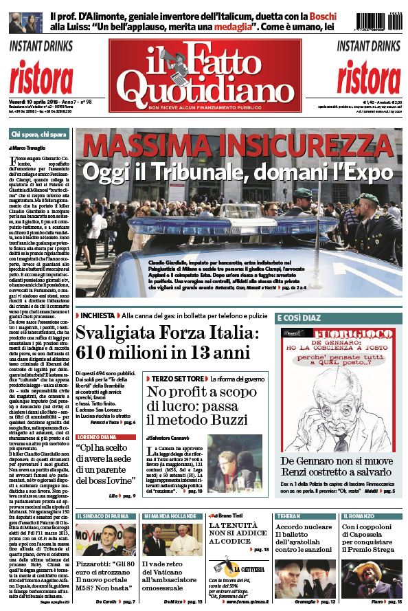 Il Fatto Quotidiano (10-04-15) free download