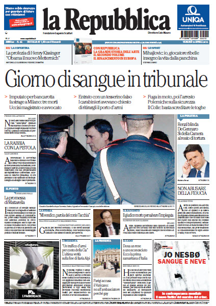 La Repubblica - 10.04.2015 free download