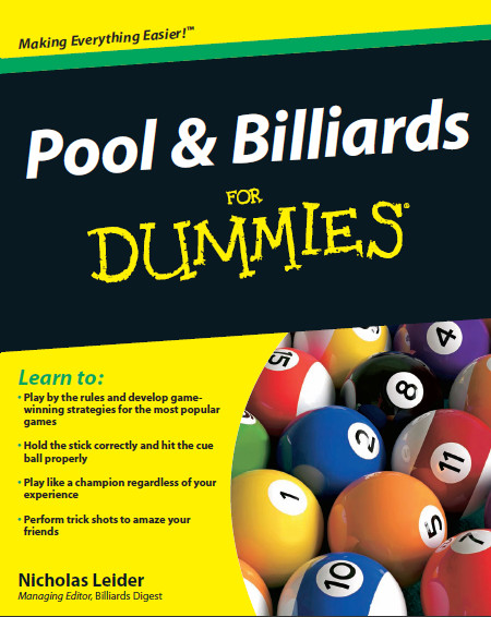 Pool and Billiards For Dummies download dree