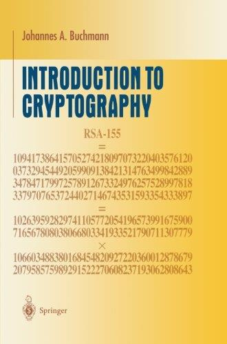 Introduction to Cryptography free download