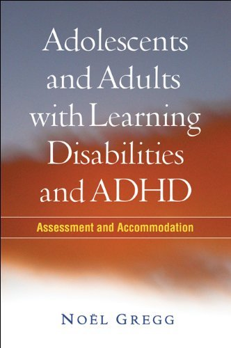 Adolescents and Adults with Learning Disabilities and ADHD: Assessment and Accommodation free download