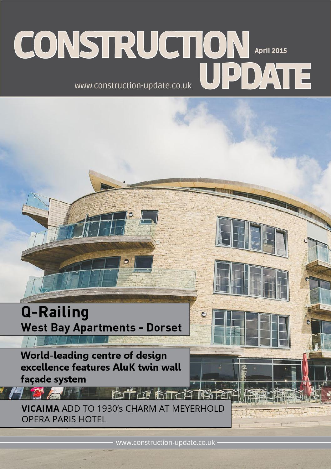 Construction Update - April 2015 free download