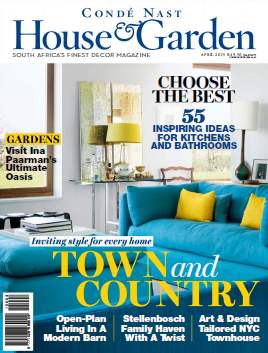 Conde Nast House & Garden - April 2015 free download