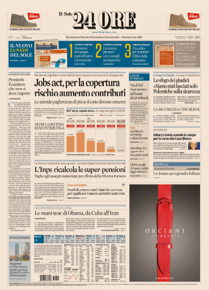 Il Sole 24 Ore - 11.04.2015 free download