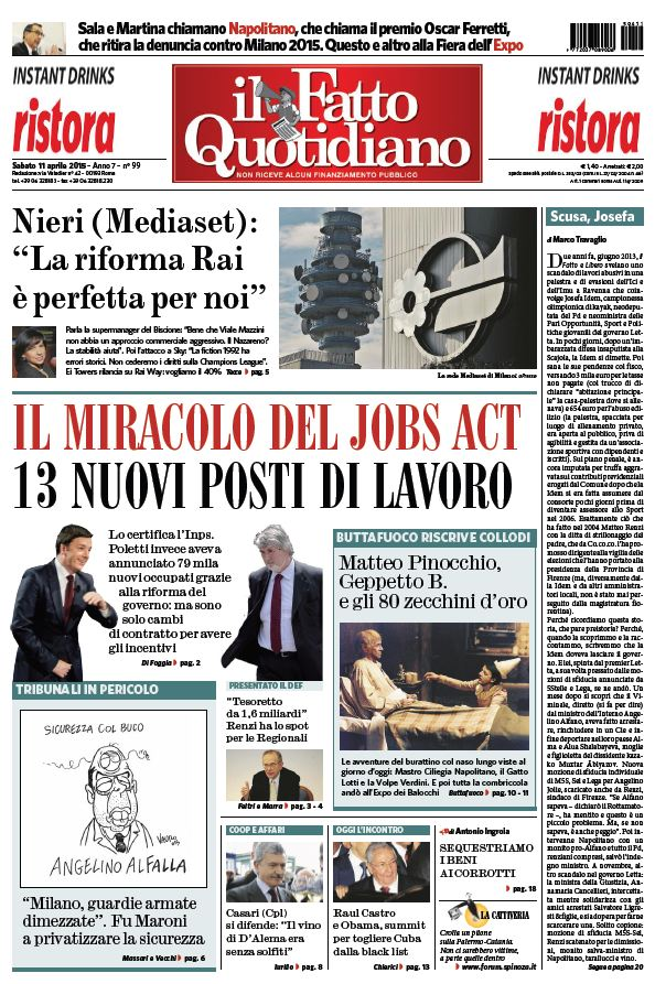 Il Fatto Quotidiano (11-04-15) free download