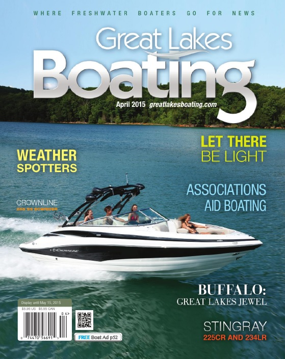 Great Lakes Boating - April 2015 free download