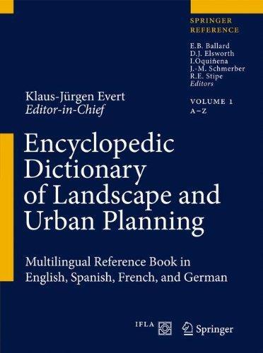 Encyclopedic Dictionary of Landscape and Urban Planning free download