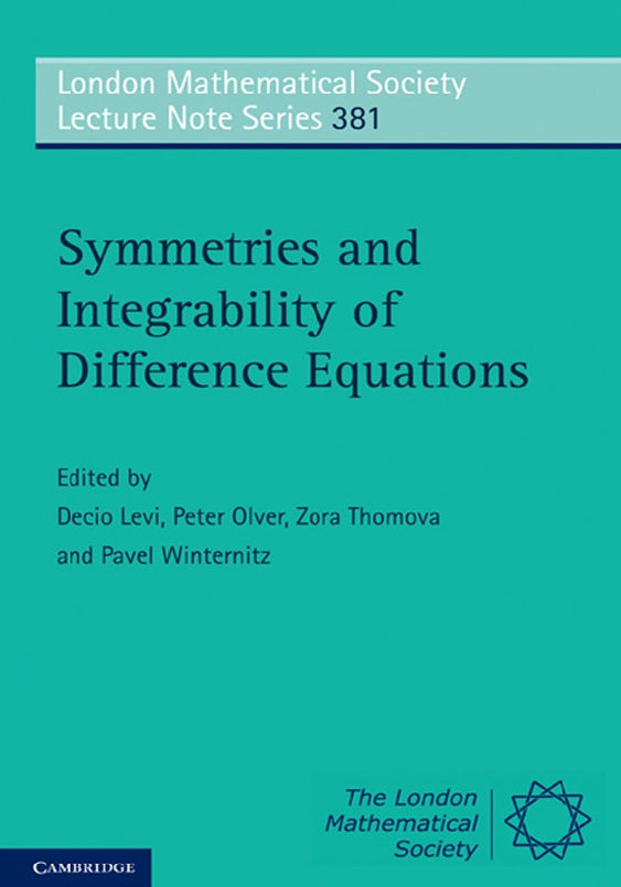 Symmetries and Integrability of Difference Equations free download
