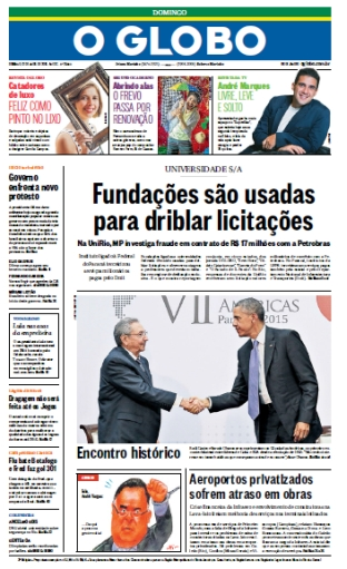 O Globo - 12 de abril de 2015 - Domingo free download